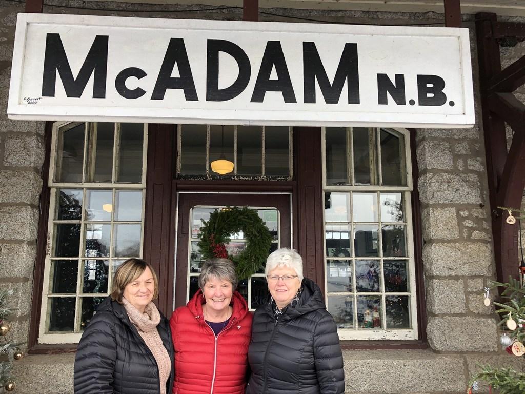 McAdam Bus Trip Pick Up Times, Thursday November 14th