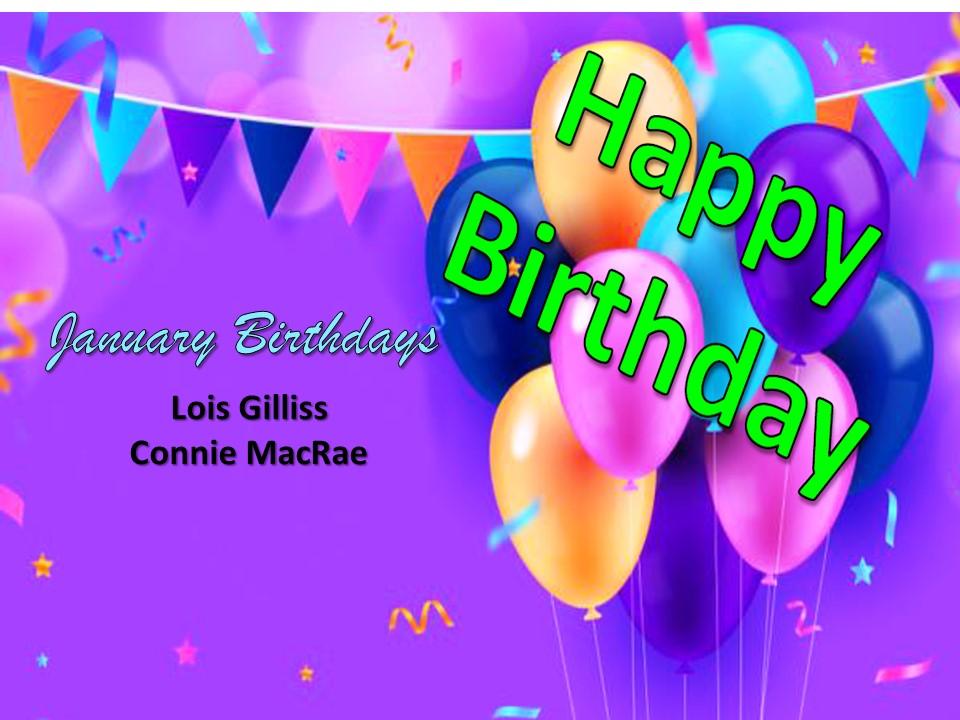 Birthday Congrats!
