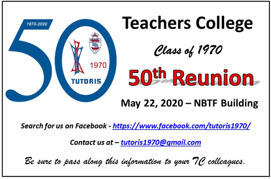 Class of 1970 50th Reunion